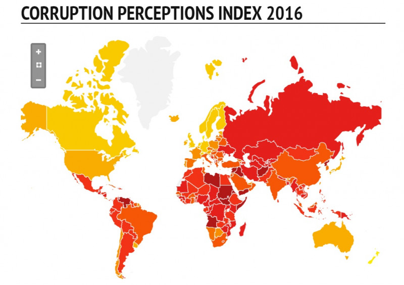 Transparency International: Hrvatska je po korupciji identična Maleziji