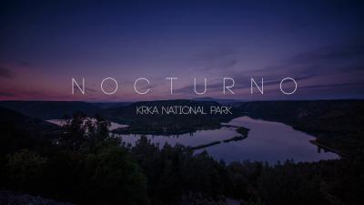 Nocturno: Ubrzana ljepota Krke na mjesečini (VIDEO)
