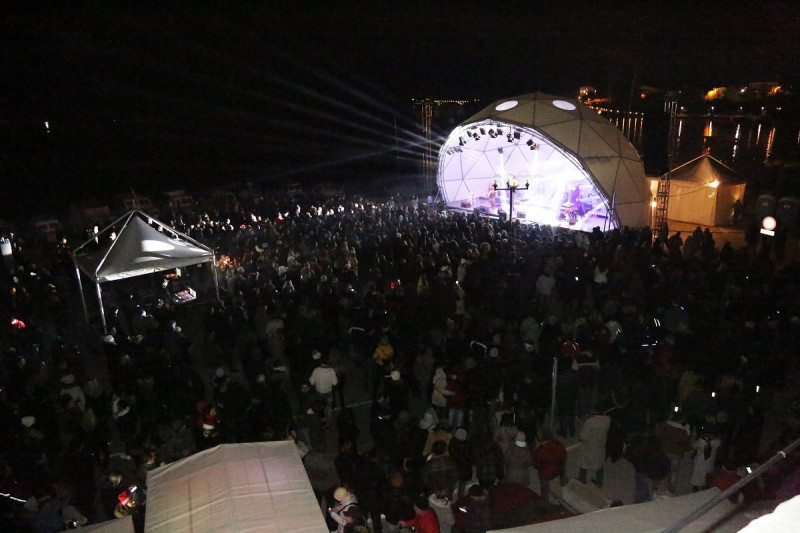 Šibenčani dočekali Novu uz Massima i bez petardi