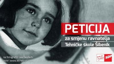 Forum mladih SDP-a pokrenuo peticiju za smjenu ravnatelja Tehničke škole Josipa Belamarića