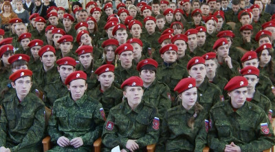 IunArmia, djeca u uniformi  (foto: printscreen Gtrksmolensk)