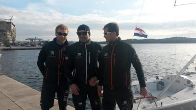 Poljska posada (Foto: TRIS)