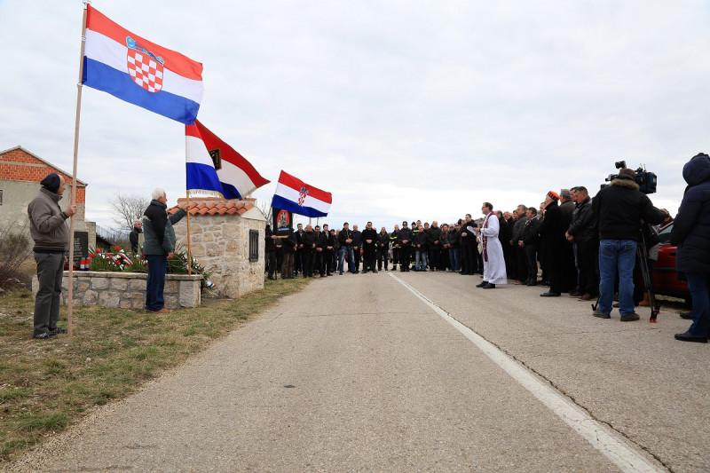 Današnja komemoracija u Dragišićima (Foto: Tris/H. Pavić)