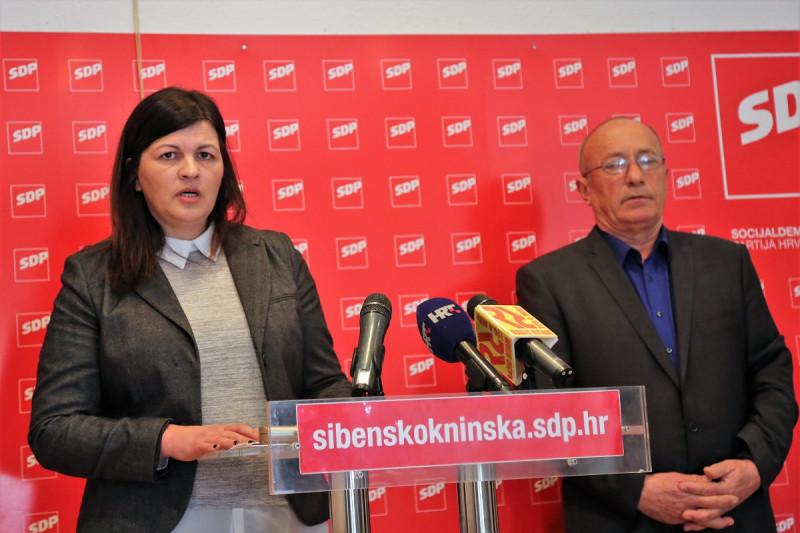 Konferencija SDP-a: Anita Jakšić i Ivan Rajić (Foto: Tris/H. Pavić)