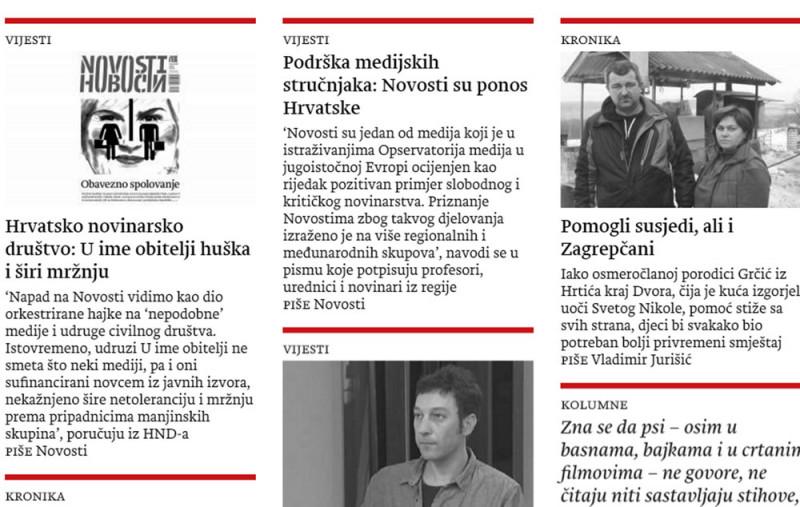 Podrška medijskih stručnjaka iz regije: Novosti su ponos Hrvatske