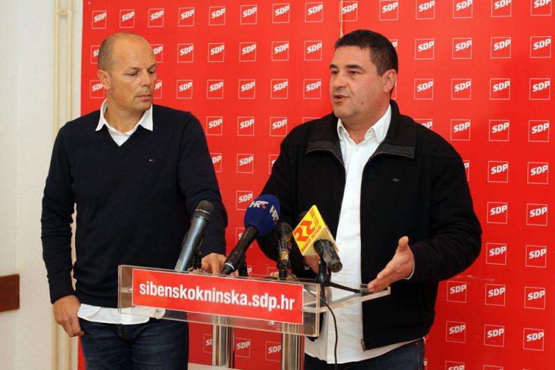 Šibenski SDP: Gradonačelnik Burić nema konkretnih rezultata već samo nerealizirana obećanja, a sve što je radio je iluzija i prodaja magle