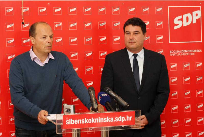 Šibenski SDP: Gradonačelnik Burić kontinuirano troši više nego što prihoduje