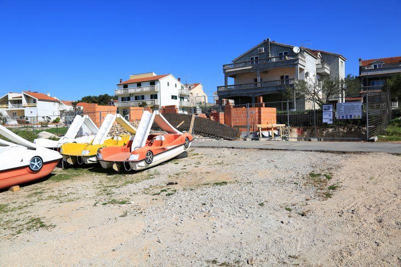 Sporno gradilište na Plavoj plaži (Foto: Tris/H. Pavić)