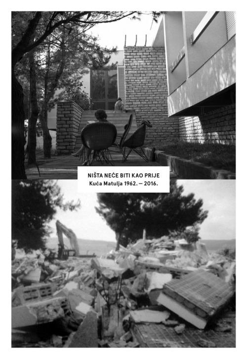 Zaštita hrvatske arhitekture modernizma: Jesmo li na slučaju srušene kuće Matulja na Brodarici naučili lekciju?
