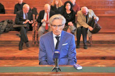 Na današnjem suđenju Tomislavu Horvatinčiću (Foto: Tris/H. Pavić)