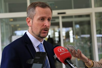 Ministar Ante Šprlje u Solarisu (Foto: Tris/H. Pavić)