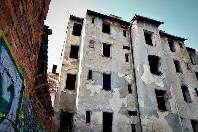 Ruševina u srcu grada (foto TRIS)
