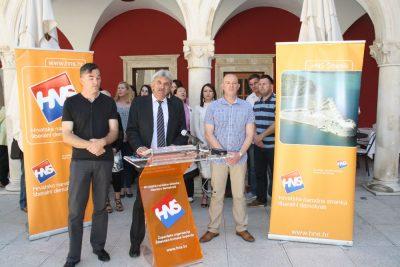 Šibenski HNS posljednjeg dana kampanje samo o projektima