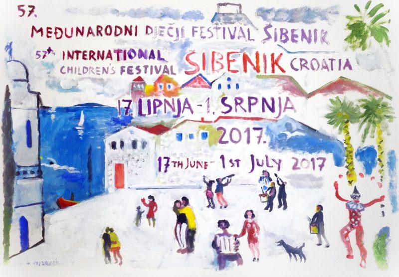 Plakat 57. MDF-a djelo je Munira Vejzovića