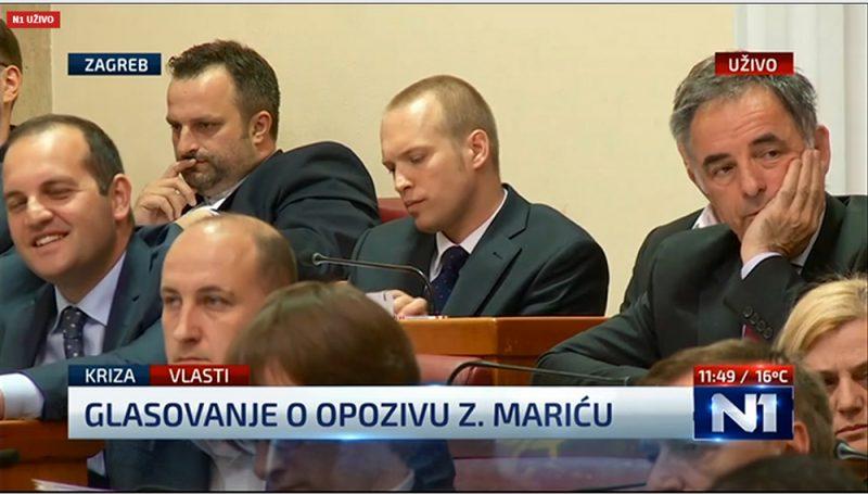Zdravko Marić ostaje ministar, 75 glasova ZA i 75 glasova PROTIV njegovog opoziva