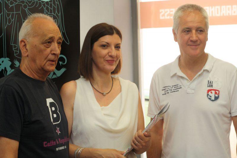Dušan Šarac, Gorana Barišić Bačelić i Darko Gulin (Foto: Jozica Krnić)