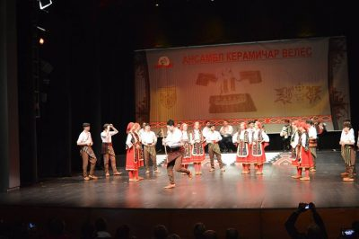 Tangenta na Trgu Pavla Šubića u Šibeniku: Makedonska glazbeno-gastro večer