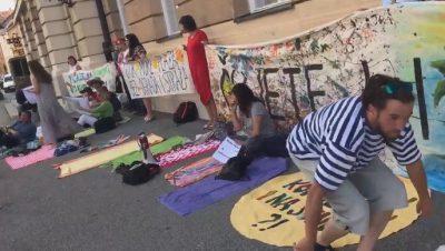 Prosvjed (foto HTRT/Maja Sever)