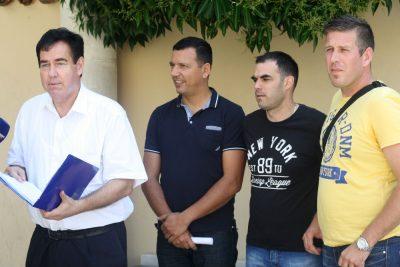 Vatrogasni sindikalisti (Foto: Jozika Krnić)