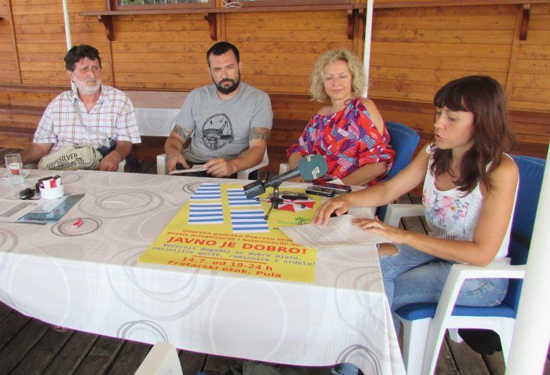 Istra je protiv Zakona o koncesijama (foto zelena Istra)