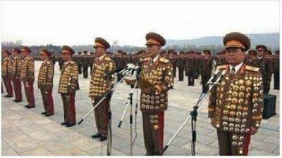na slici su odlikovani sjevernokorejski generali. Navodno... (foto: Internet)
