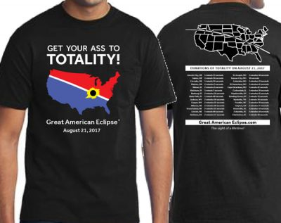 Majica za 20 dolara (foto: www.greatamericaneclipse.com)