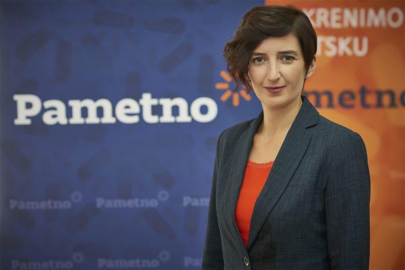 Marijana Puljak, - šefica Pametno(ga)