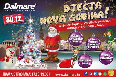 Dječja Nova godina u Dalmareu