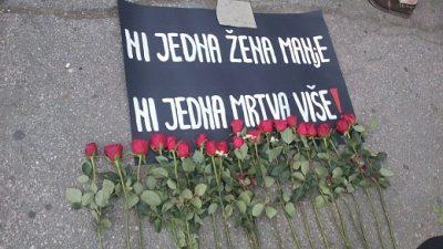 """Prosvjed """"STOP fundamentalističkom nasilju nad ženama"""""""