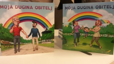 Udruga Dugine obitelji tiskat će 2 tisuće novih slikovnica o istospolnim obiteljima