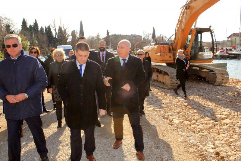 Ministar mora, prometa i infrastrukture Oleg Butković u Šibeniku: Ima novca za sve šibenske projekte!?