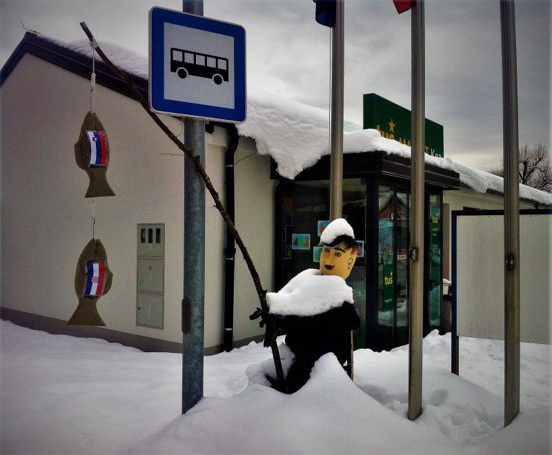 Karnevalska instalacija u Sloveniji (foto TRIS)