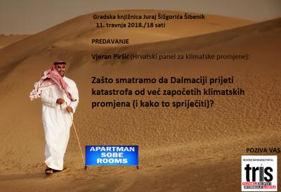 Pozivnica za predavanje Vjerana Piršića