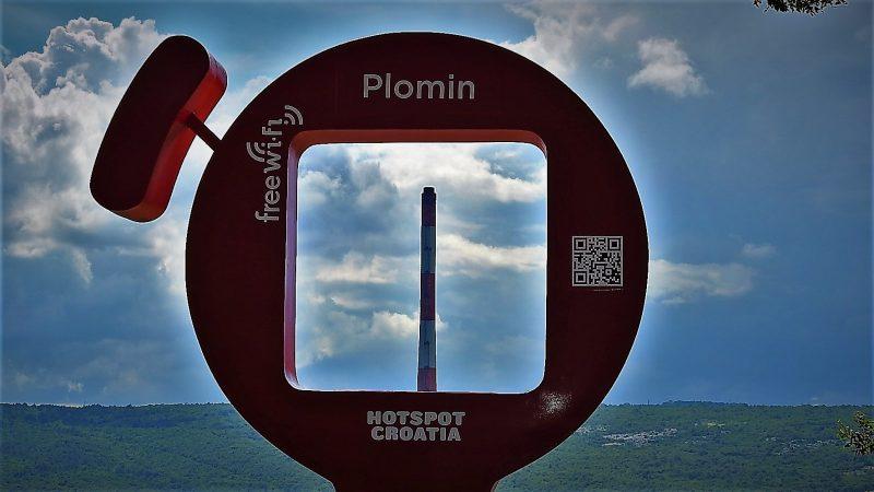 Vidikovac u Plominu (foto TRIS/G. Šimac)