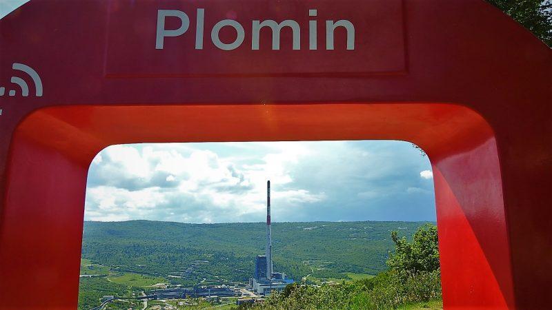 Plomin truje Istru (foto TRIS/G. Šimac)