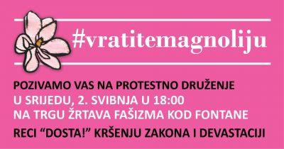 'Miševi i komarci' protiv kršenja zakona i devastacije Zagreba: Protestno druženje svake srijede u 18 sati na Trgu žrtava fašizma