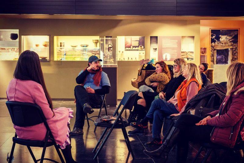 Nedavno u Muzeju grada Šibenika nakon prijekcije filma u režiji Kinokluba Šibenik (foto Facebook)