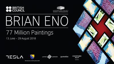 "Brian Eno izlaže u Sarajevu: Multimedijalna instalacija ""77 Million Paintings"""