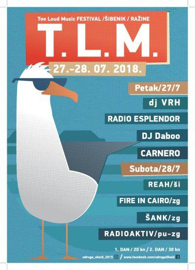 Četiri benda večeras otvaraju četvrti T.L.M. festival