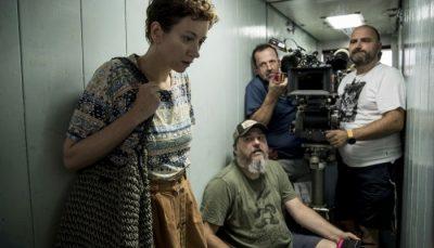Snimanje scene u liftu (foto: Nikola Predović)