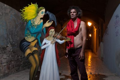 Zvonimir Vila s vješticama (Foto: Nino Šolić)