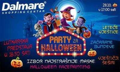 Halloween zabava u Happyland igraonici u Dalmare centru