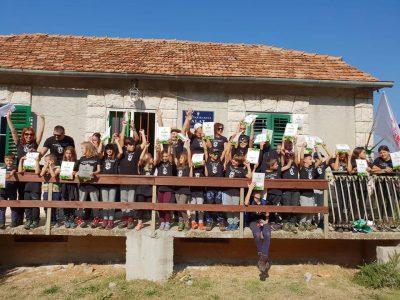 Dječji smijeh i planinarske vještine u školici bez zidova