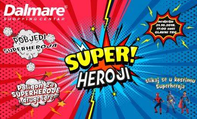 Dalmare centar postaje poligon za superheroje