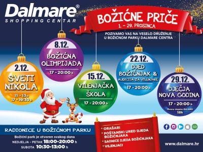 Božićne priče u Dalmare centru