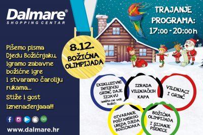 Zimske radosti na Božičnoj Olimpijadi