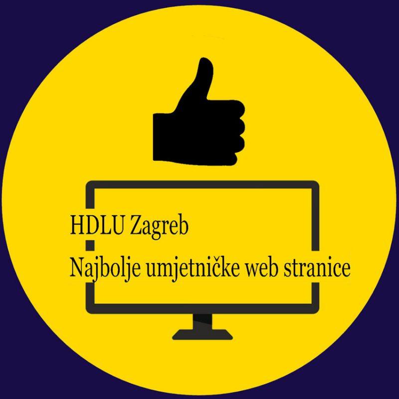 HDLU Zagreb: Natječaj za najbolje umjetničke web stranice i blogove