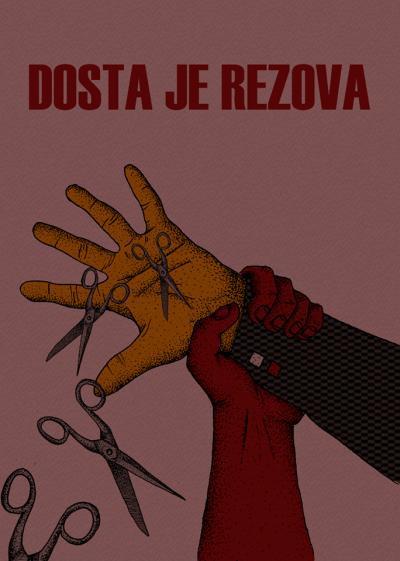 Dosta je rezova!: Prosvjed ispred Ministarstva kulture – borba svih umjetnika, radnika u kulturi i onih koji kulturu uživaju