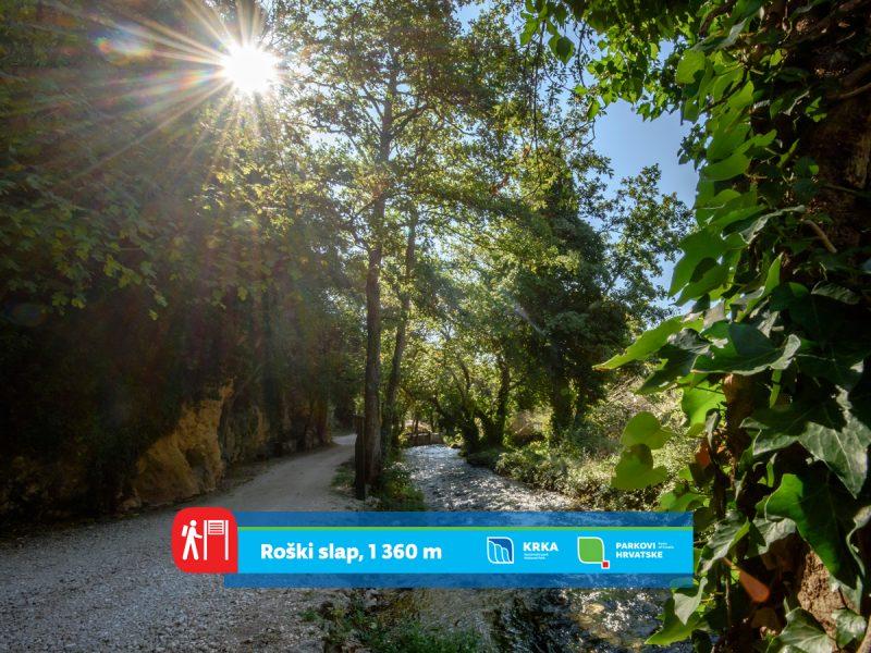NP Krka predstavlja pješačke staze: Mostom preko biserne Ogrlice