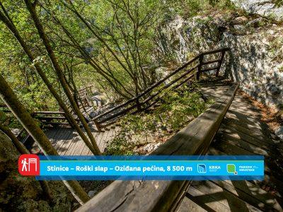 """NP""""Krka"""" predstavlja staze: Lugarev put od stoljetne šume do tisućljetne pećine"""